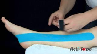 Acti-Tape 活力肌腱貼 -脛骨疼痛不適
