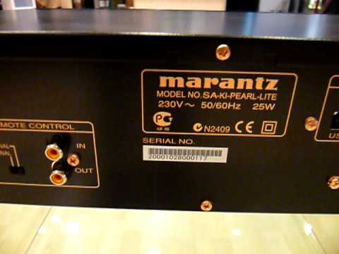 marantz sa ki pearl lite youtube. Black Bedroom Furniture Sets. Home Design Ideas