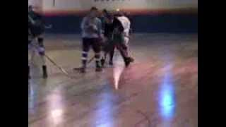 Rollerhockey at Roller Palace in Beverly, MA