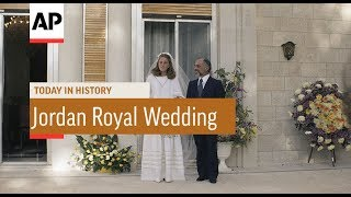 Gambar cover King Hussein Marries Lisa Halaby - 1978 | Today In History | 15 June 17