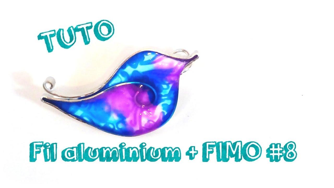 Tuto bijoux fil aluminium et fimo 8 youtube - Tuto bijoux pate fimo et fil aluminium ...