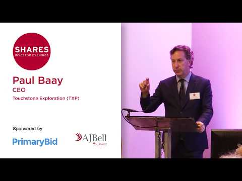 Paul Baay, CEO of Touchstone Exploration (TXP)