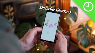 Hands-on With The Most Popular Google Doodle Games!