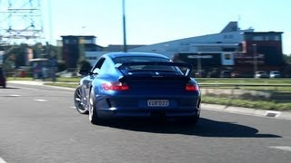 Porsche 911 GT3 Drifting, Action and Accelerating! 1080p HD