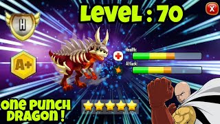 NEW ONE PUNCH DRAGON ! HIGH FERAL DRAGON LEVEL 70 !