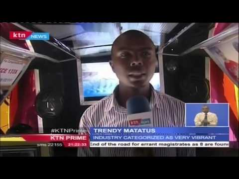 TRENDY MATATUS: Kenyan matatu industry upgrade services
