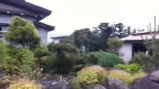 弘前市 竜巻とみられる突風発生現場 中継 18:03~