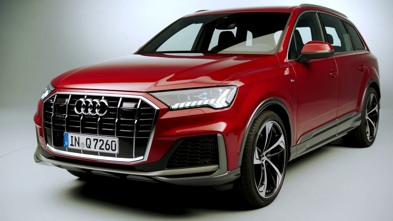 2020 Audi Q7 studio footage - YouTube