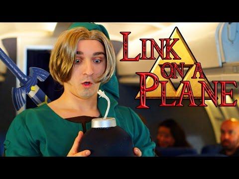 ZELDA - LINK ON A PLANE