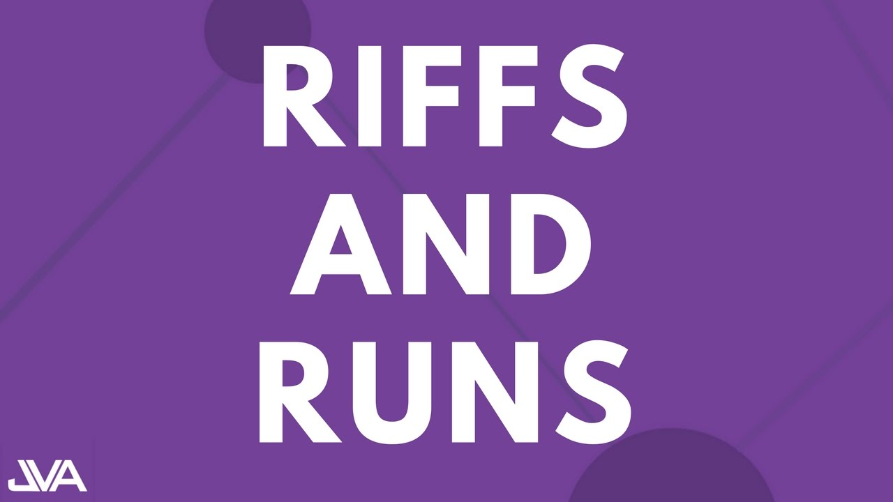 Download RIFFS AND RUNS (BEGINNER) - VOCAL EXERCISE