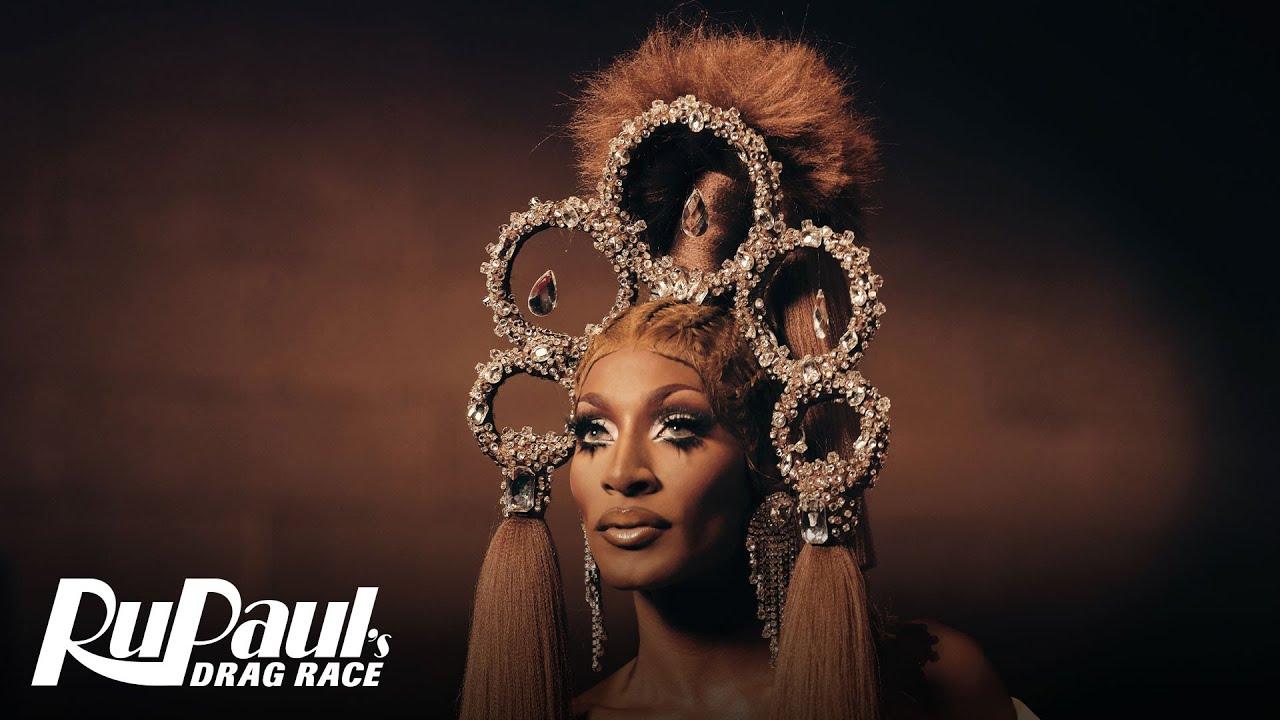 Jaida Essence Hall Honors Josephine Baker   #LGBTQHerstoryMonth   RuPaul's Drag Race