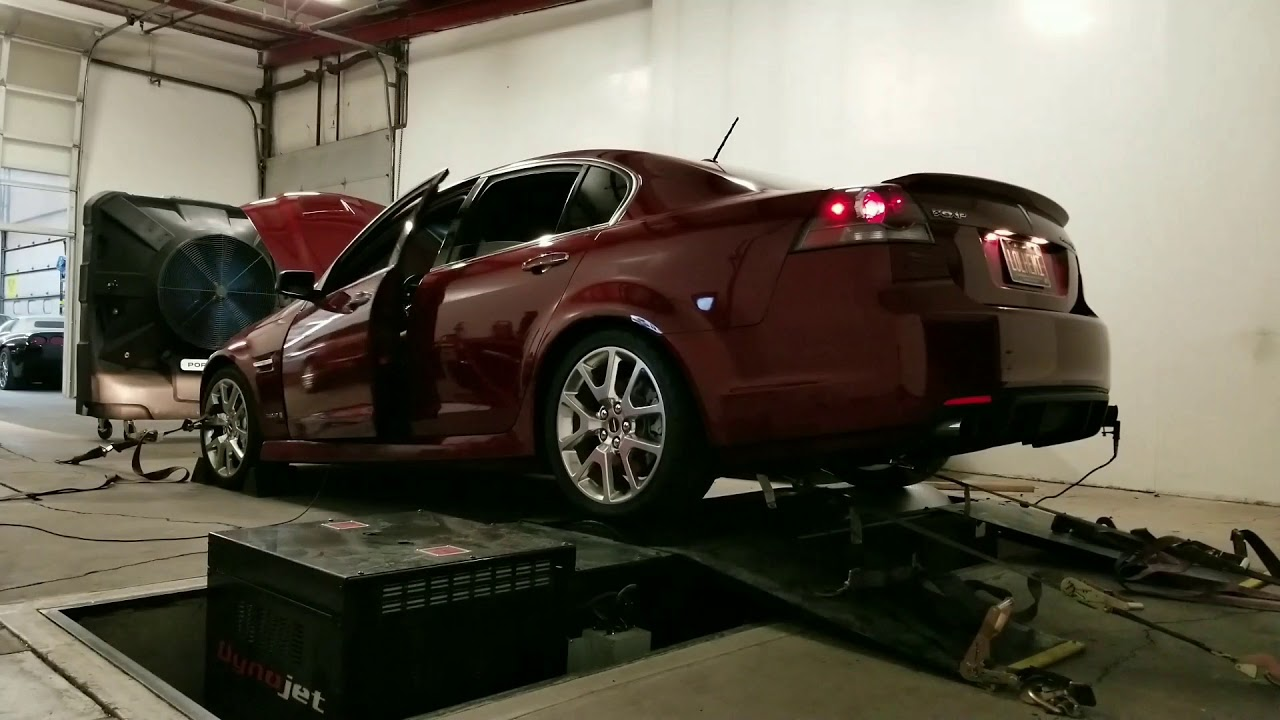 G8 GXP with Stage 4 TSP LS3 cam