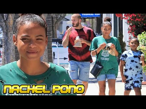 christina-milian-out-in-la-with-daughter-violet-and-beau-matt-pokora