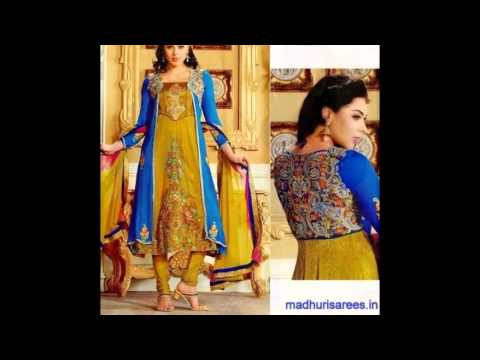 3af5fc3ef2 #Top #10 #Anarkali #Dresses in #Malad #west #Mumbai 9820293151  madhurisarees.in - YouTube