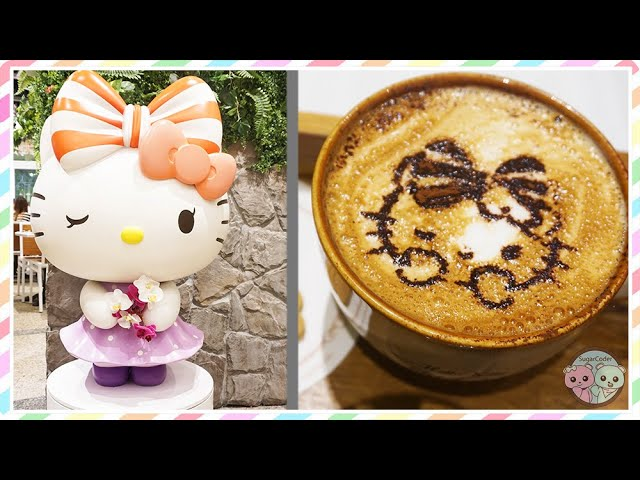 Hello Kitty Orchid Garden Cafe Review in Singapore ❤️