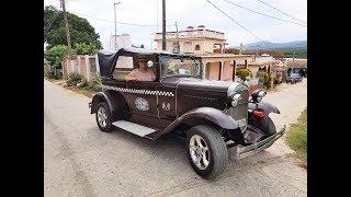 The coolest car ever in La Boca, Trinidad | Cuba Part 3