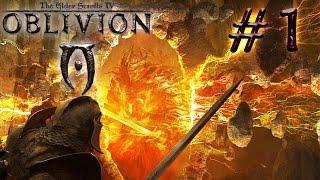 TES 4: Oblivion.  Прохождение # 1 - Добро пожаловать, случайности не случайны.