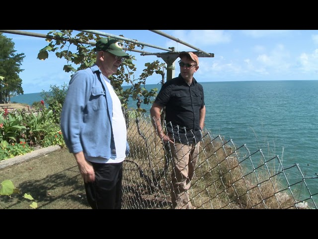 Measuring Bluff Erosion on the Great Lakes