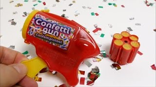 Confetti Toy Gun for Kids - Confettipistol Fun