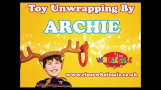 Party Bag Toys Unwrapped by Archie