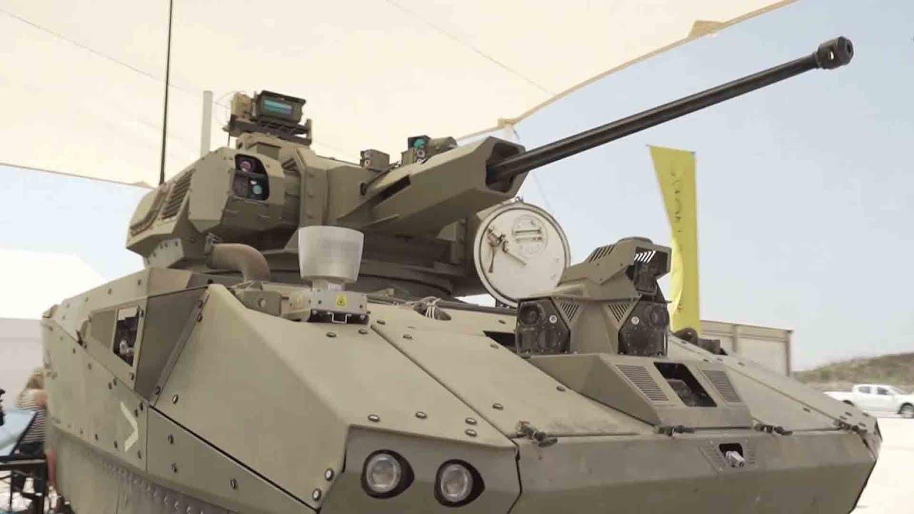 """כמו משחק מחשב? כך ייראה רכב הקרב המשוריין העתידי של צה""""ל"""