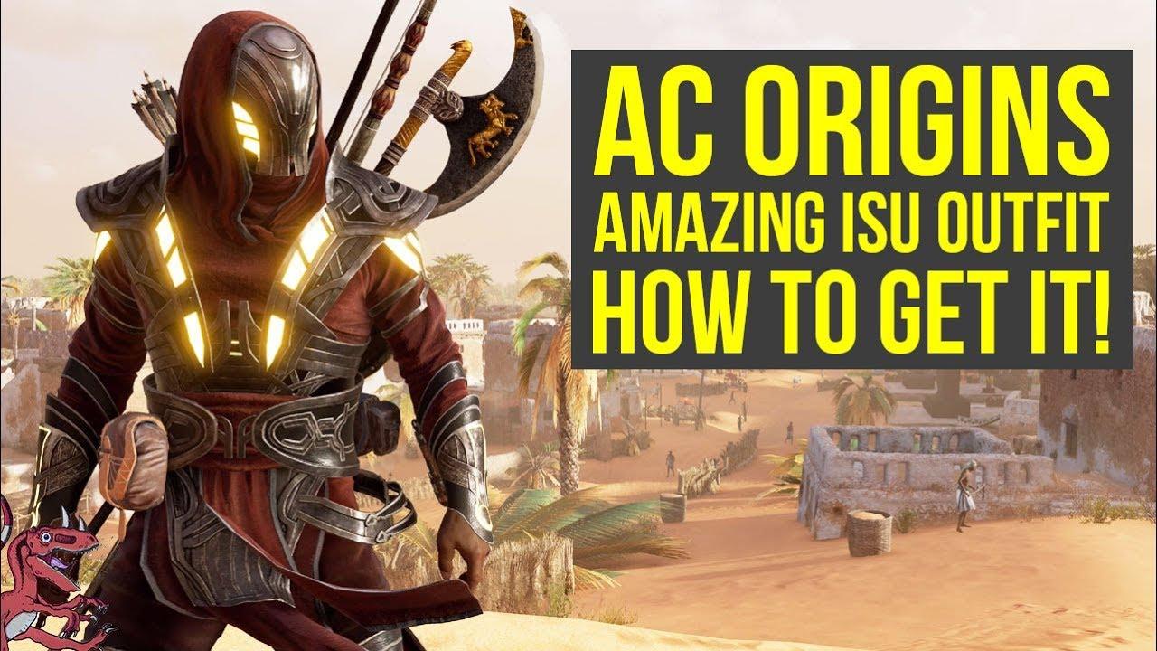 Assassinu0026#39;s Creed Origins Tips How To Get THE ISU ARMOR (AC Origins Outfits - Assassins Creed ...