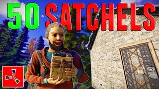 One of Grizzly's most viewed videos: HOW TO WASTE 50 SATCHELS | Rust DUO Survival #3 (Finale)