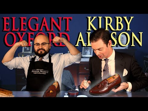 Kirby Allison And Elegant Oxford Restore These Allen Edmonds Together!
