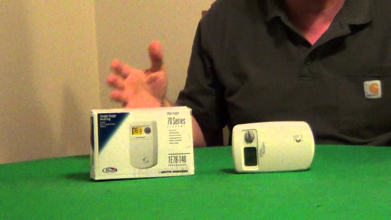 Heat Only Thermostat Youtube Home Ac Heater Wiring Motbile