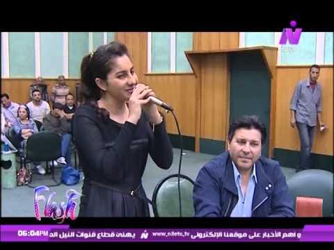 ياسمينا العلواني في برنامج فلاش