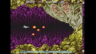 Gradius III (Arcade/PS2) Stage 10: Last (Mechanical Base)