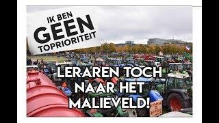 LERAREN MET TRAKTOREN NAAR HET MALIEVELD!