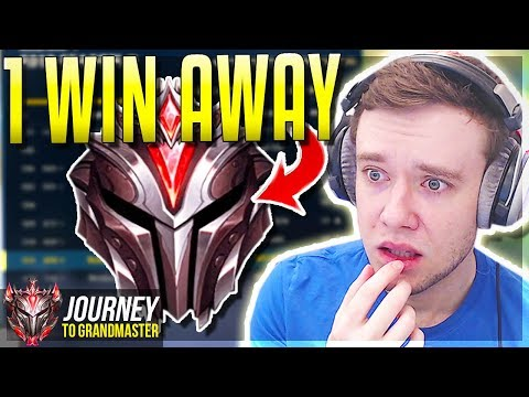 1 WIN AWAY FROM GRANDMASTERS IS THIS IT???? - Journey To Grandmaster