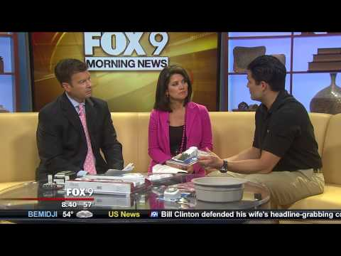 Home Security Tips This Summer - SABRE Home Series Appears On FOX 9 Minneapolis