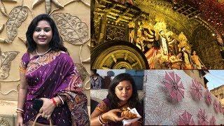 Durga Puja 2018 Vlog | Pandal Hopping | Junk Foods | Mahapanchami