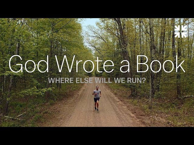 God Wrote a Book: Where Else Will We Run?