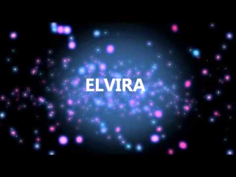 Feliz Cumpleaños Elvira Youtube