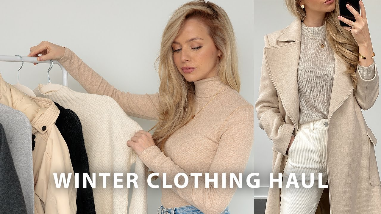 WINTER TRY ON CLOTHING HAUL + WINTER OUTFITS 2021