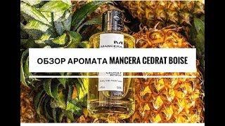 Обзор мужского аромата Mancera Cedrat Boise