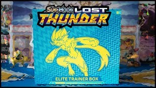 Lost Thunder Elite Trainer Box! Pokemon TCG
