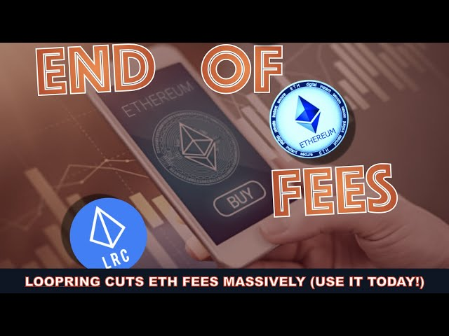 LOOPRING ELIMINATES 95% OF ETHEREUM FEES & IS DUE FOR A SHORT & LONG TERM BREAKOUT! Trinity Trading.