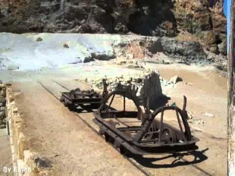 Sulfur Mine  Milos