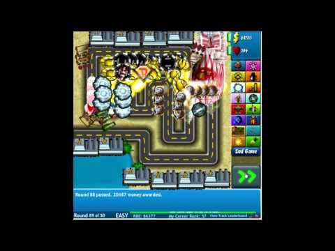 Bloons Tower Defense 4 - Flashgame