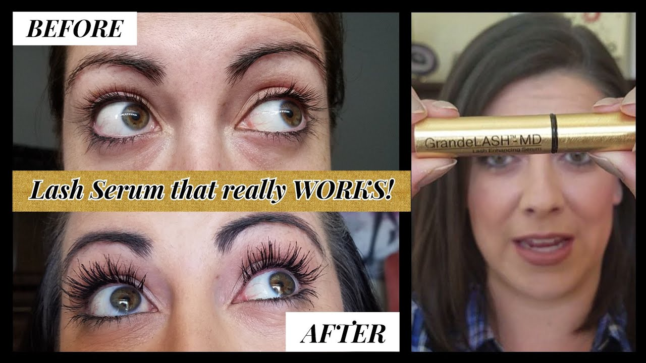 17dea3951cc Grandelash MD Lash Serum Review! Shocking results! - YouTube
