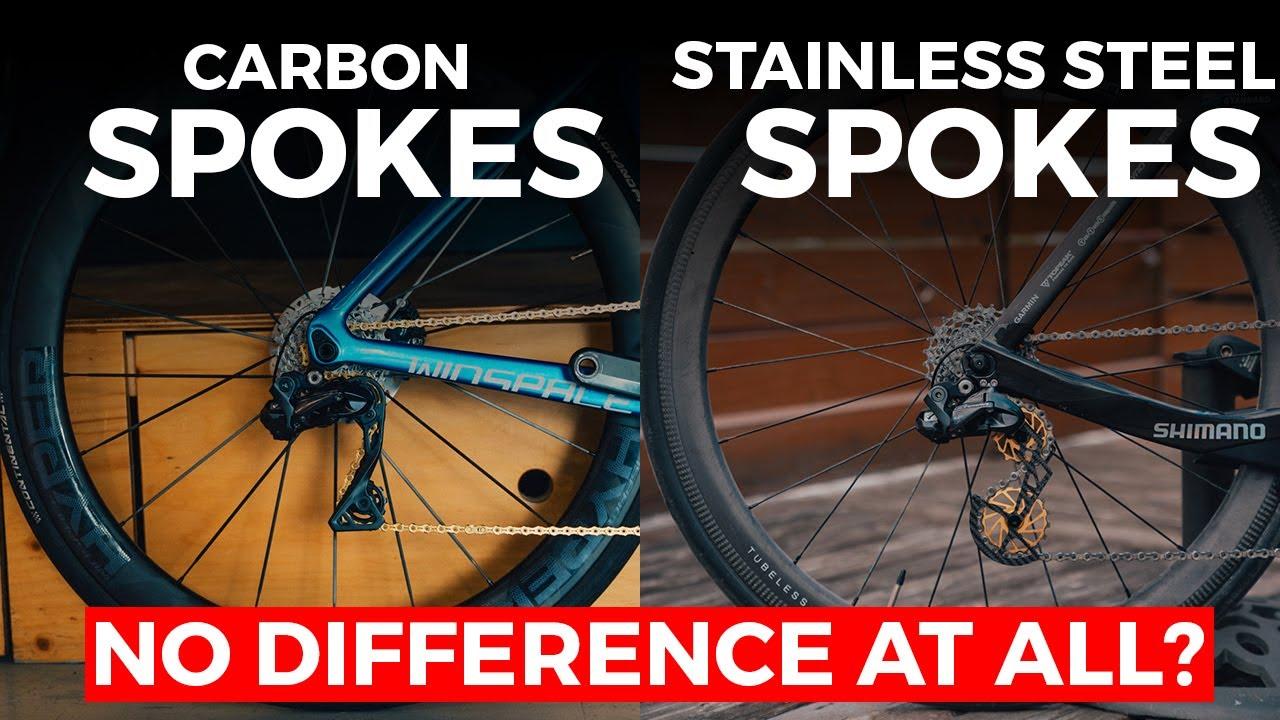Carbon Spokes VS Steel Spokes : Uphill Testing Using Winspace Hyper & LUN wheels