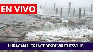 EN VIVO:  Huracán Florence Impacta Wrightsville