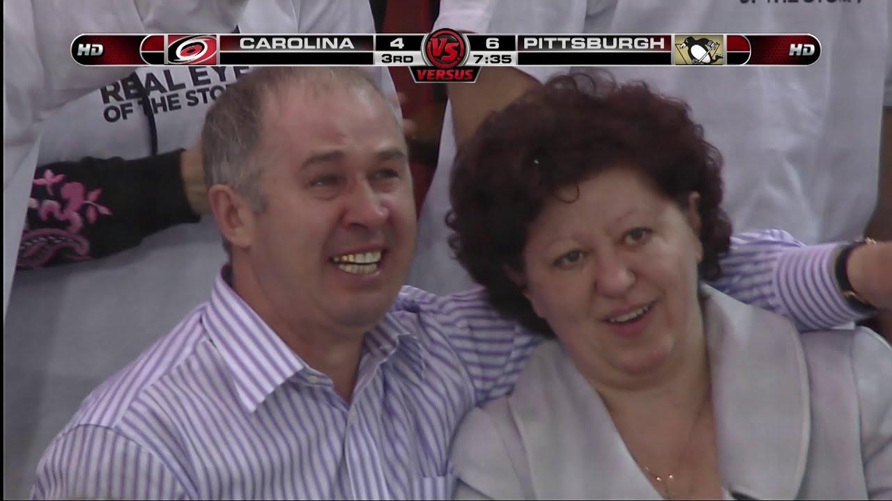 Малкин делает хет-трик в плей-офф-2009 на глазах у родителей | Русская классика