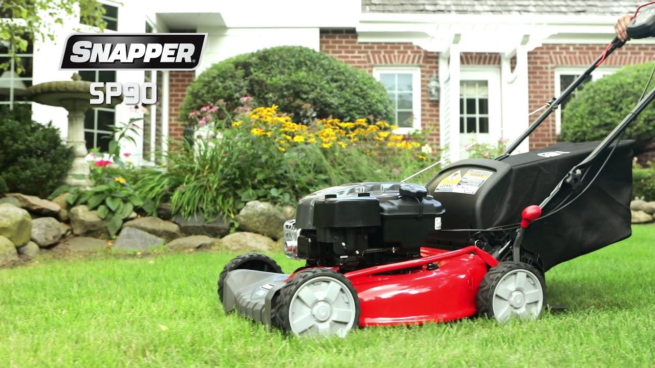 SP Series Self Propelled Lawn Mowers
