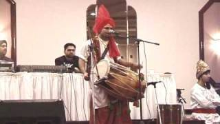 Jolly Bawa on Dhol, Bhangra Nation 7