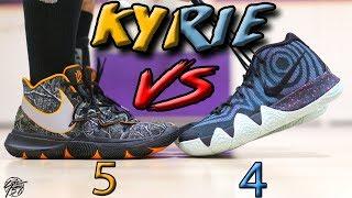 Nike Kyrie 5 vs Kyrie 4! What